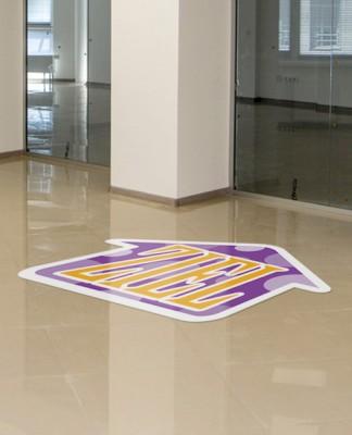 Fußbodenfolie ohne Laminat