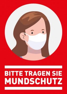 Mundschutz-Schild 01