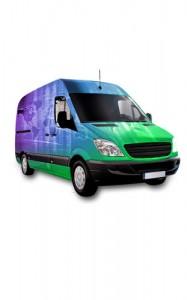 Fahrzeug Teil- und Vollverklebung